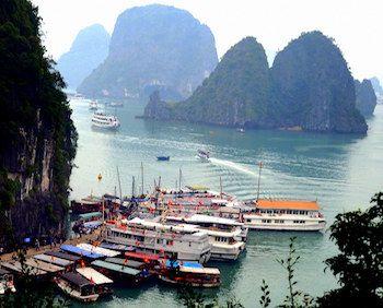 baie et port d'Halong