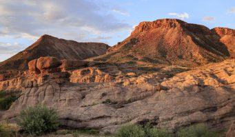 panorama des montagnes de l'ouest des États-Unis