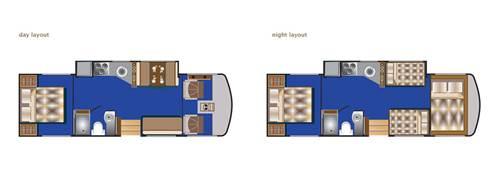 plan du camping-car numéro 4