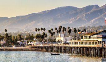 jetée ou pier de Santa Barbara