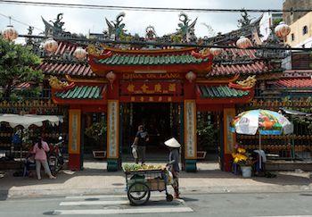 pagode Thien Hau à Saigon