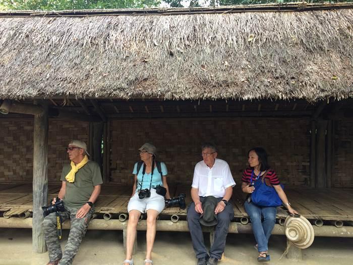 quatre retraités en voyage
