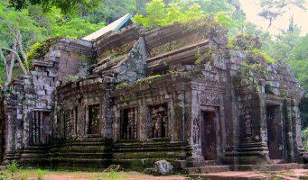 temple khmer de Wat Phou