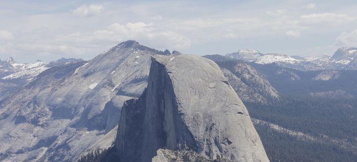 Montagne au coeur de Yosemite